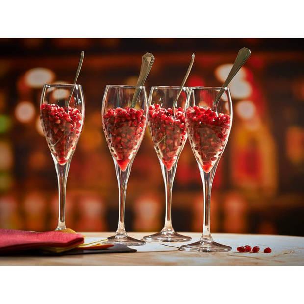 Pasabahce Champagneflûte Monte Carlo 13 cl - Transparant 6 stuk(s)