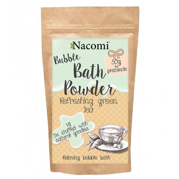 Nacomi Bubble Bath Powder Green Tea 150g.