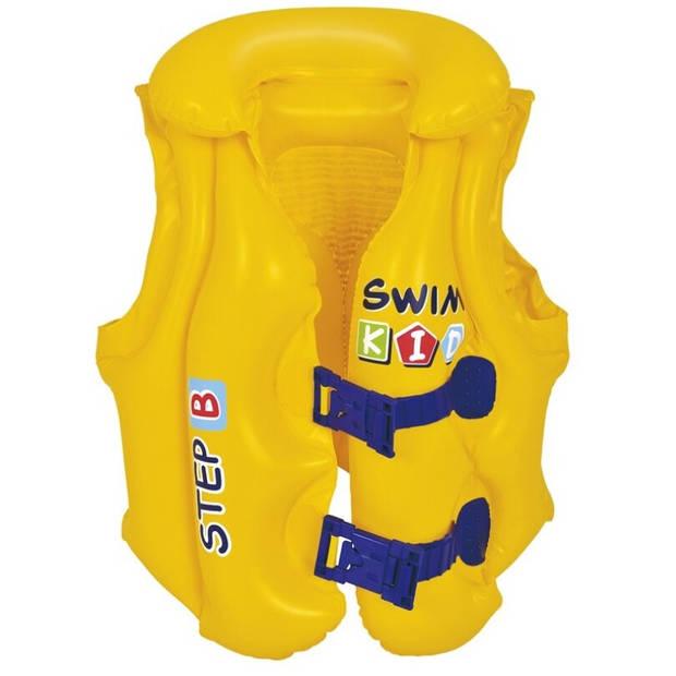 Jilong zwemvest junior 46 x 42 cm PVC geel 3-6 jaar