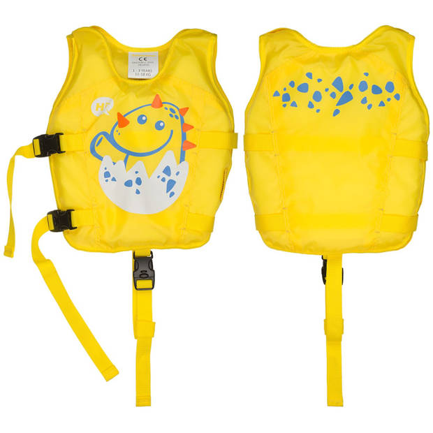 Waimea zwemvest Dier junior polyester/foam geel 1-3 jaar