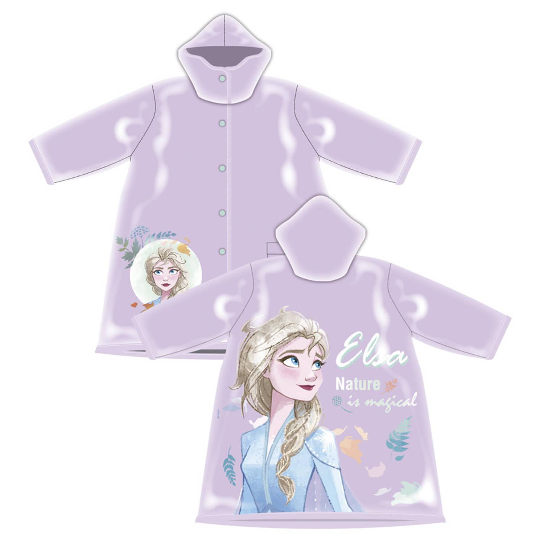 Disney Regenjas Frozen Ii Meisjes Pvc Paars Maat 6-7 Jaar online kopen