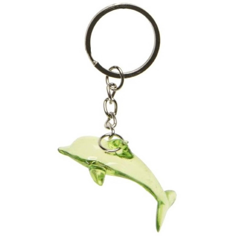 Korting Lg imports Sleutelhanger Dolfijn Junior 4,2 Cm Groen