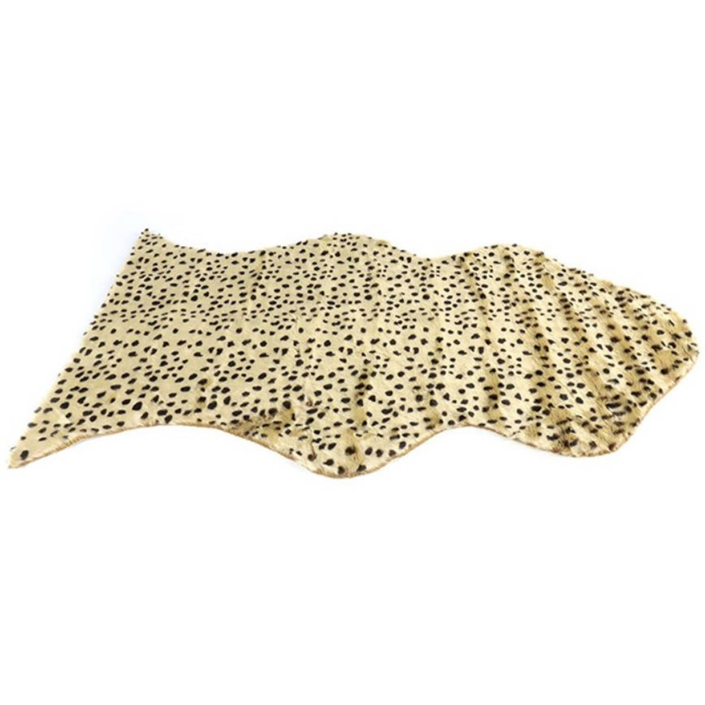 Korting Decostar Vloerkleed Animal 110 X 70 Cm Textiel Champagne