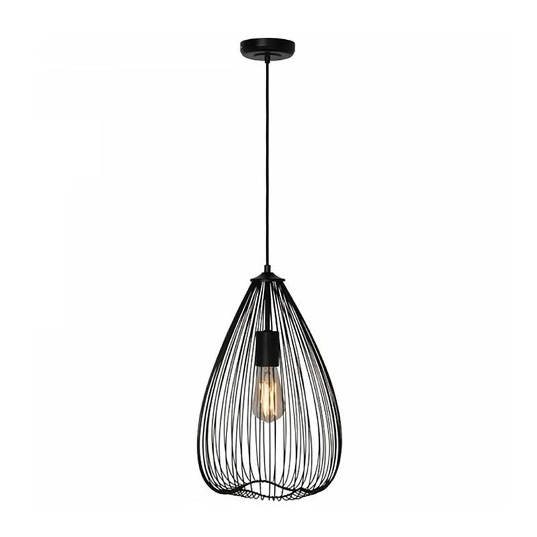 freelight Hanglamp Nador Mat Zwart 30cm