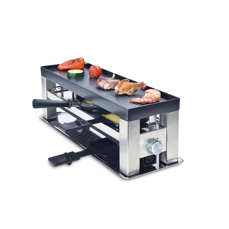 Solis Table Grill 4 in 1 790 Multifunctioneel Grill Apparaat Gourmetstel 3 Personen online kopen