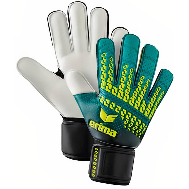 Erima Keepershandschoenen Skinator Protect 2.0 Groen/wit Maat 9 online kopen