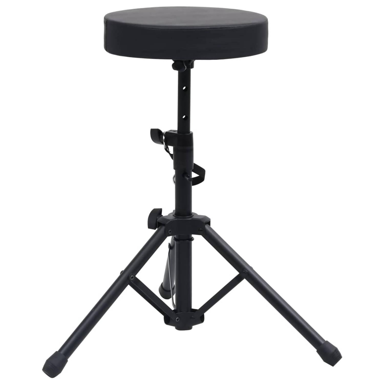 Vidaxl Drumkruk Verstelbaar Rond Zwart