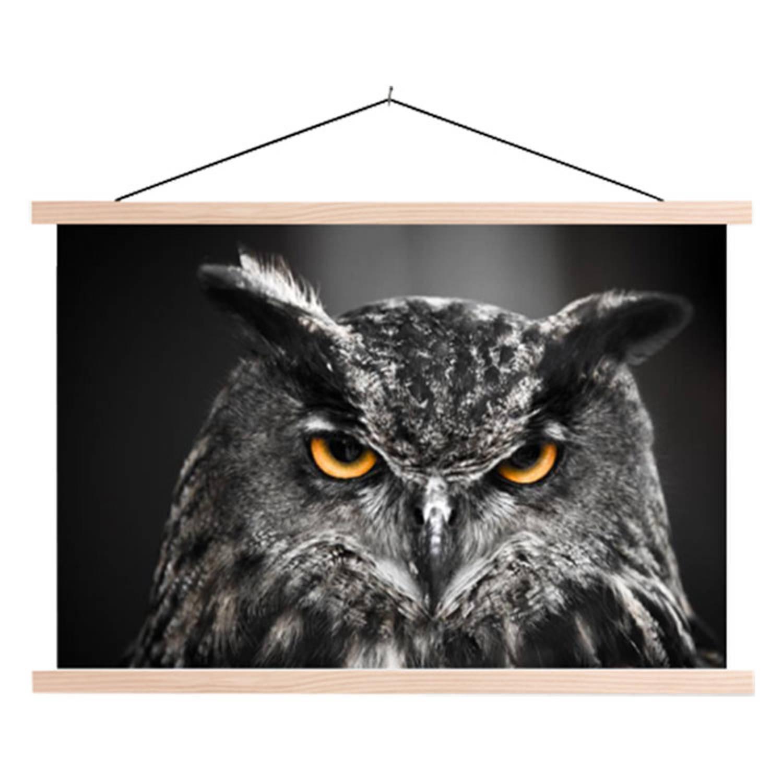 Schoolplaat Eagle Owl
