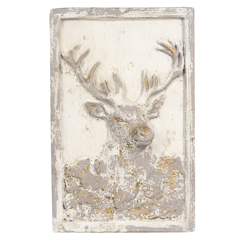 Clayre & Eef Wanddecoratie 5pr0064 45*8*70 Cm - Beige Kunststof