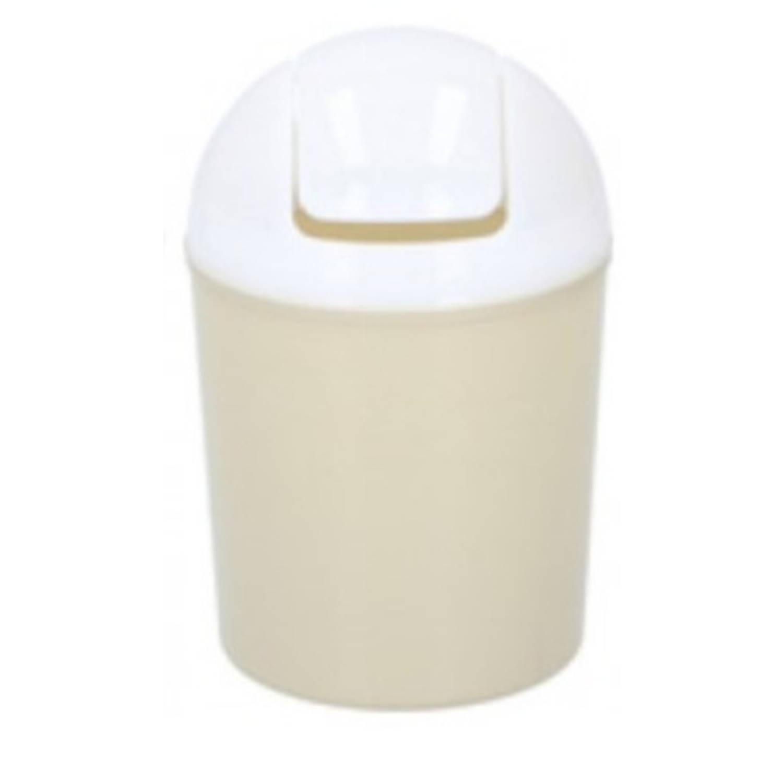 Lifetime Clean Tafel-afvalemmer 210 Ml Polypropyleen Geel/wit