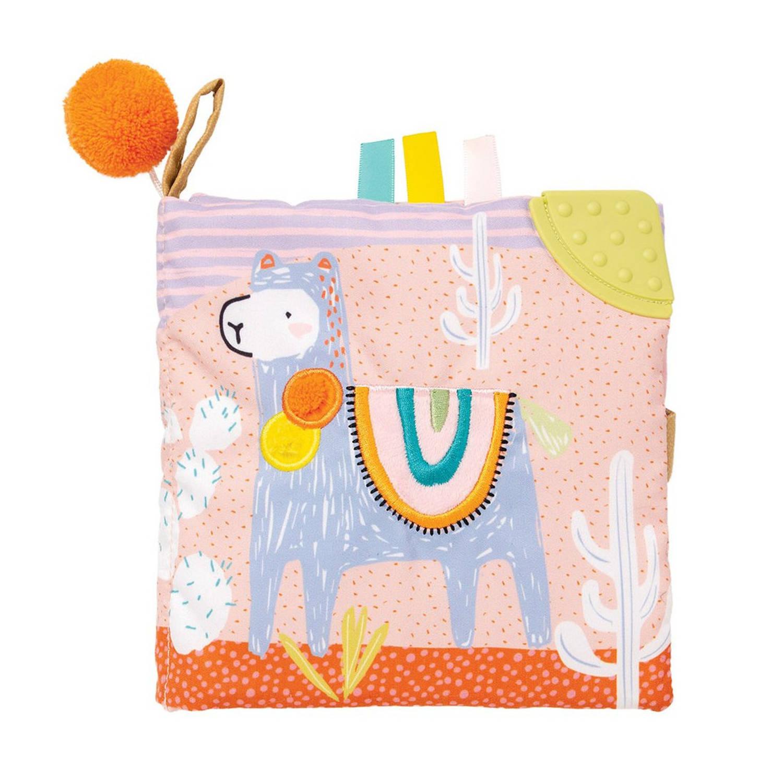 Manhattan Toy babyboekje Llama 15 cm textiel