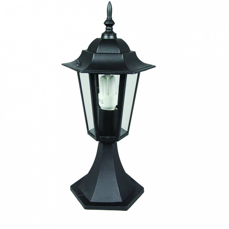 Luxform Padverlichting Orlando 20 X 41 Cm Aluminium Zwart