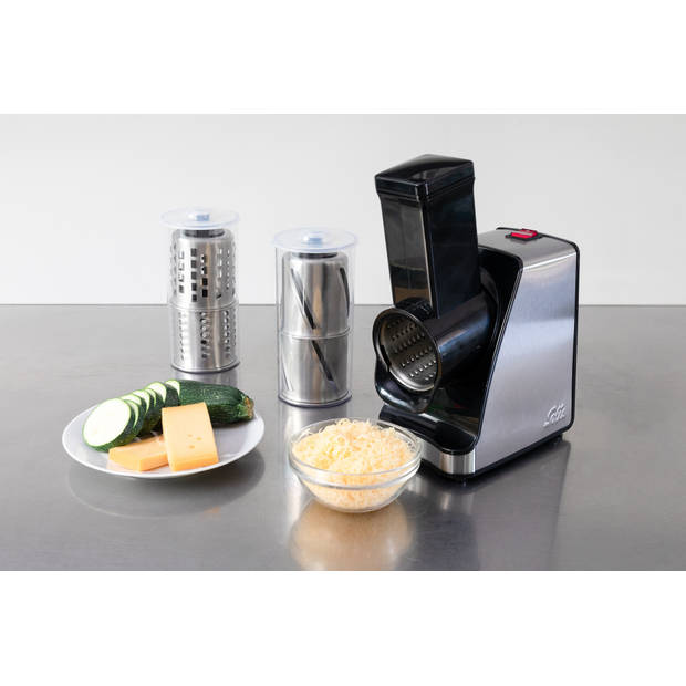 Solis Slice & More 8401 Elektrische Hakmolen en Rasp - Groentesnijder