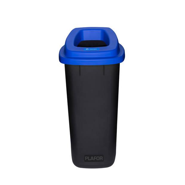 Plafor Sort Bin 90L – Recycling Bio/Paper – Blue