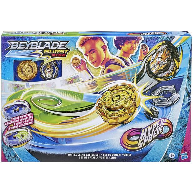 Beyblade tol-arena Hypersphere 51,8 x 35,6 cm blauw/groen