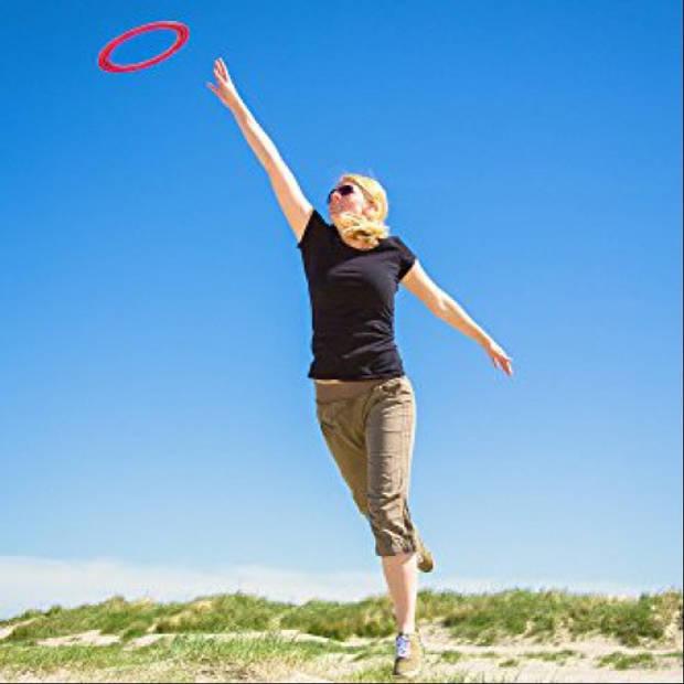 Aerobie frisbee Sprint Ring 25 cm rubber blauw