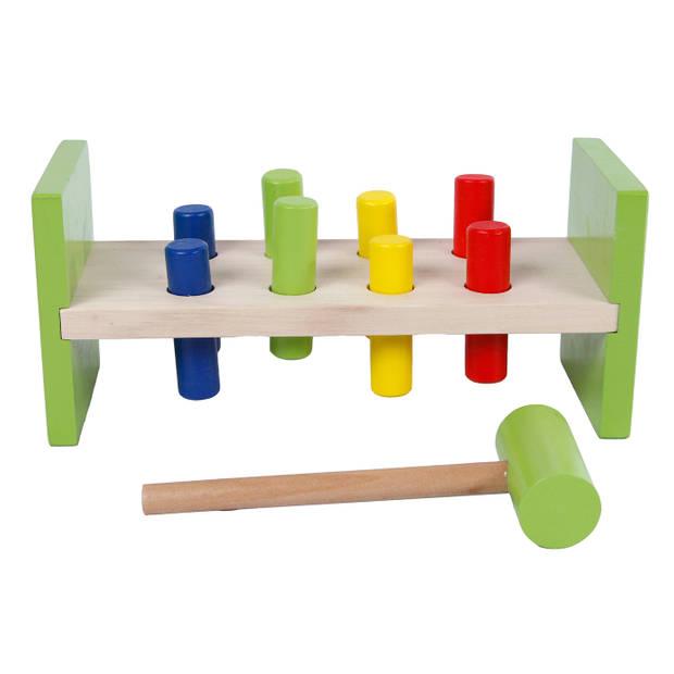 2-Play hamerbank junior 23,5 x 10,5 cm hout