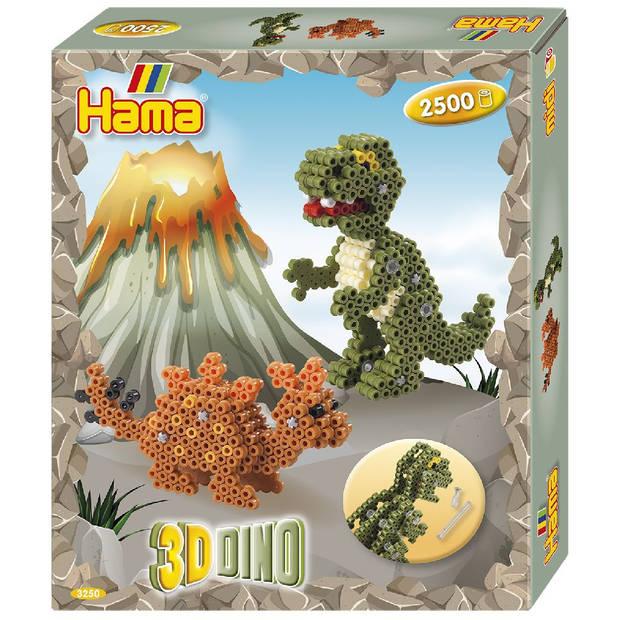 Hama strijkkralen Dino junior 2504-delig