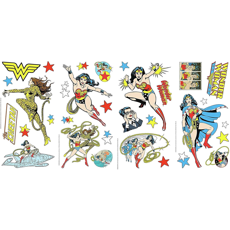 Roommates Muursticker Wonder Woman 91 X 176 Cm Vinyl 36-delig