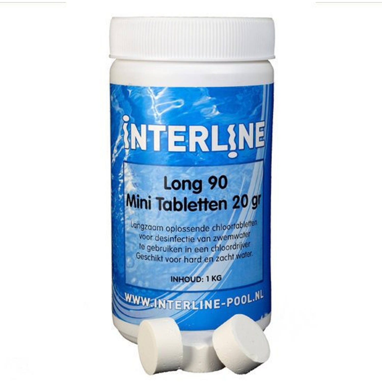 Interline Chloortabletten - Long90 20gram/1kg (52781206)
