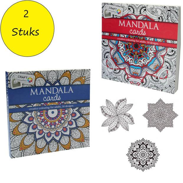 Craft Sensations Kleurboek Mandala 2 Stuks