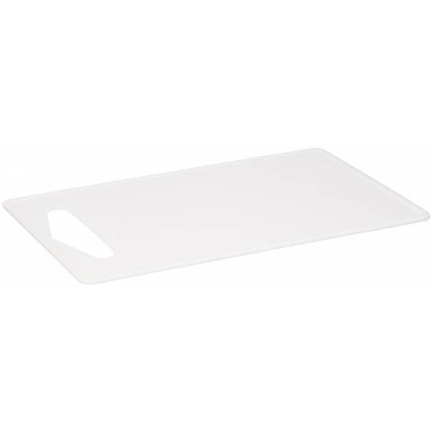 TOM snijplank 35 x 23 cm polypropyleen wit