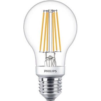 Korting Philips Led Lamp Sceneswitch Filament 827 A60 E27 Fitting Dimbaar 1.6w 7.5w Warm Wit 2200k 2700k Vervangt
