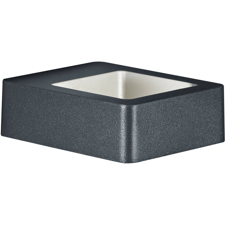 Led Tuinverlichting - Tuinlamp - Trion Riona - Wand - 4w - Warm Wit 3000k - Mat Antraciet - Aluminiu