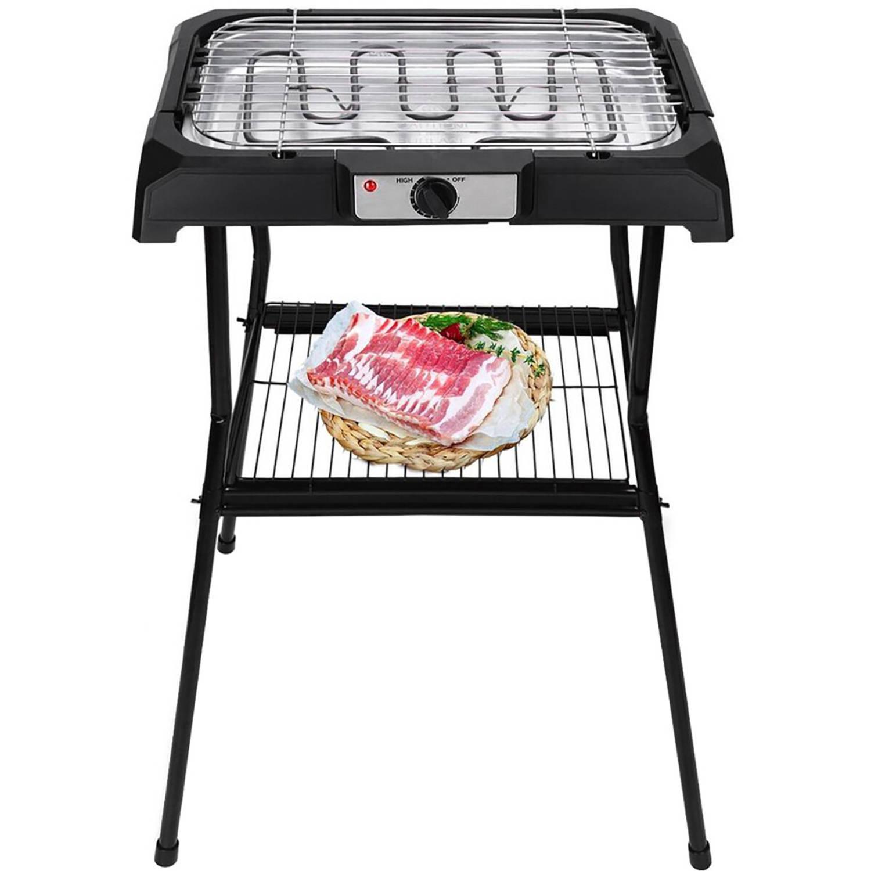 Elektrische Barbecue - Aigi Livra - 2000 Watt - Zwart