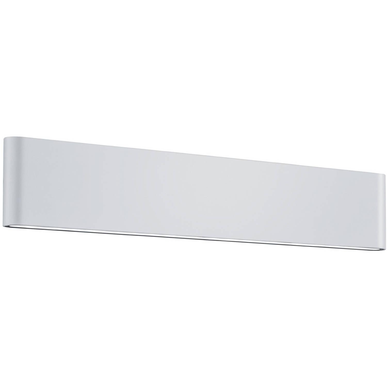 Led Tuinverlichting Tuinlamp Trion Thino Wand 16w Mat Wit Aluminium