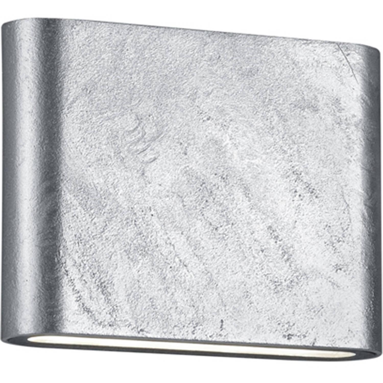Led Tuinverlichting Tuinlamp Trion Thino Wand 4w Mat Grijs Aluminium