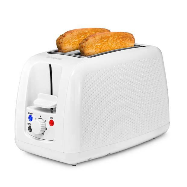 Brabantia BBEK1025WHT Broodrooster - 2 Sleuven - Wit