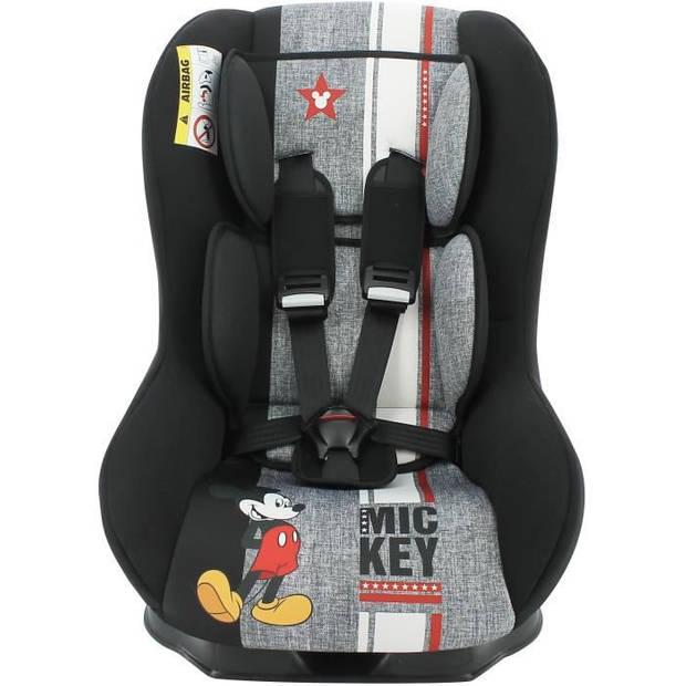 DISNEY Autostoel Maxim First Group 0/1 - Geboorte tot 18 kg - Mickey