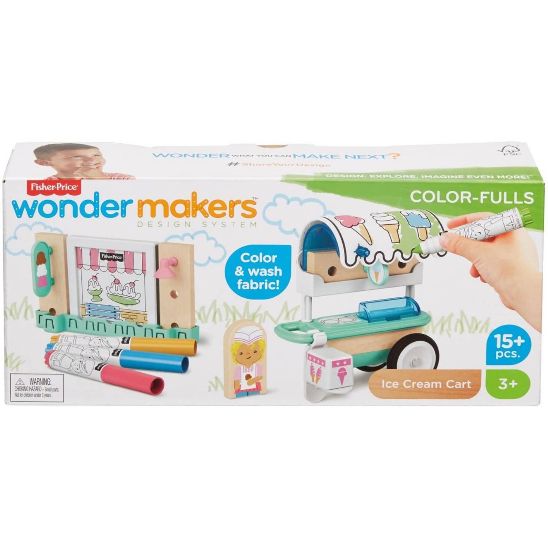 Fisher Price bouwpakket Wonder Makers IJskraam junior 15 delig