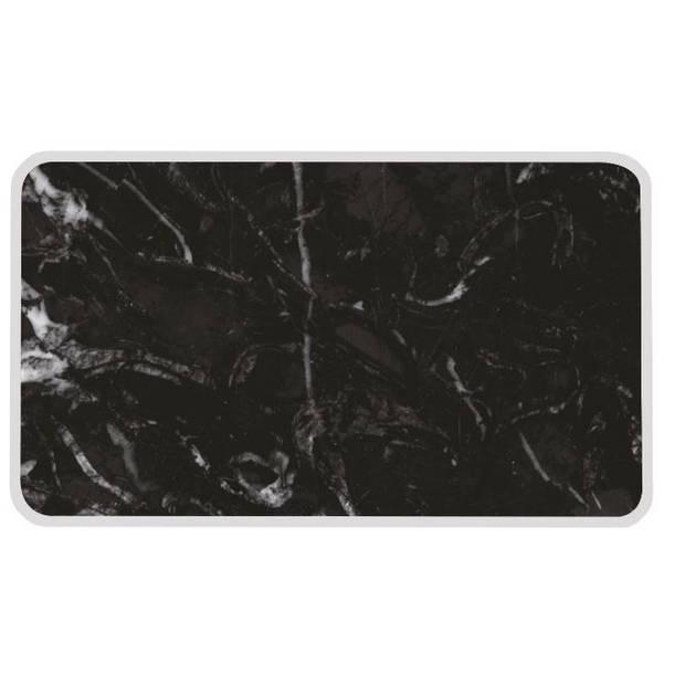 Zak!Designs serveerplank Osmos 23,5 x 16 cm melamine zwart