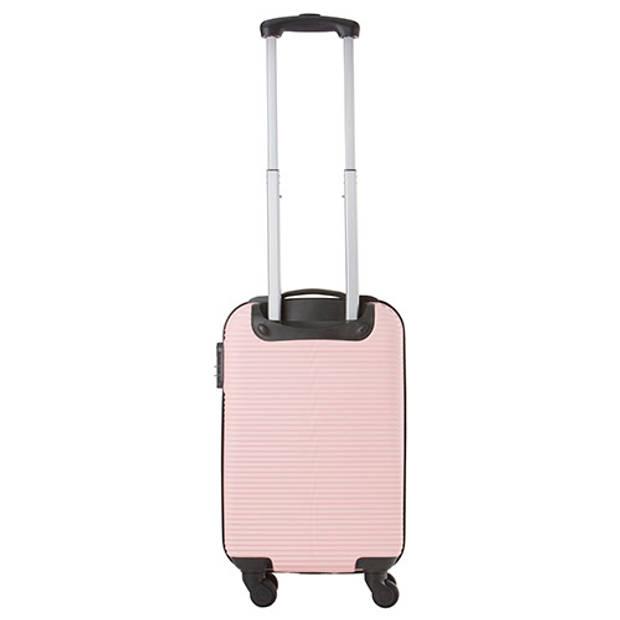 TravelZ Horizon Handbagagekoffer - 54cm Handbagage met cijferslot - Baby Roze