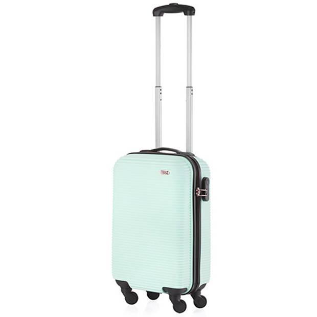 TravelZ Horizon Handbagagekoffer - 54cm Handbagage met cijferslot - Mint
