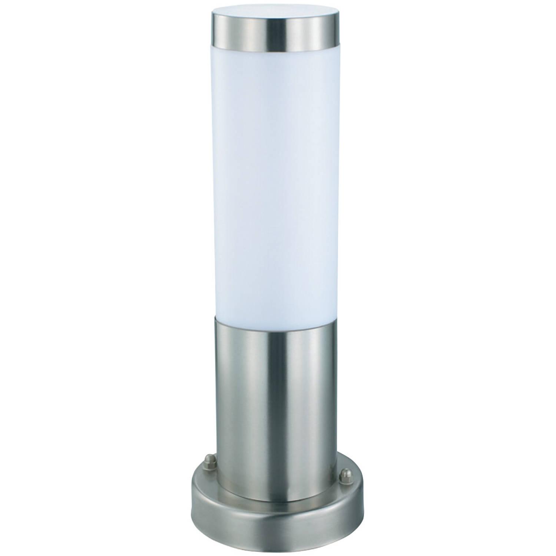 Led Tuinverlichting Buitenlamp Laurea 3 Staand Rvs E27 Rond