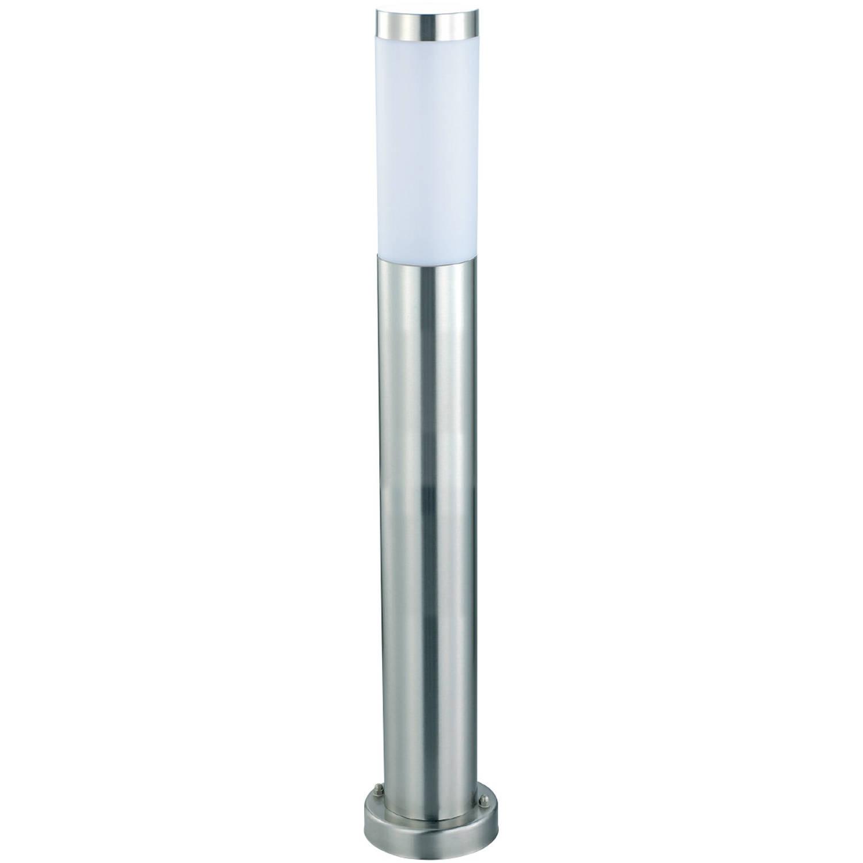 Led Tuinverlichting Buitenlamp Laurea 5 Staand Rvs E27 Rond