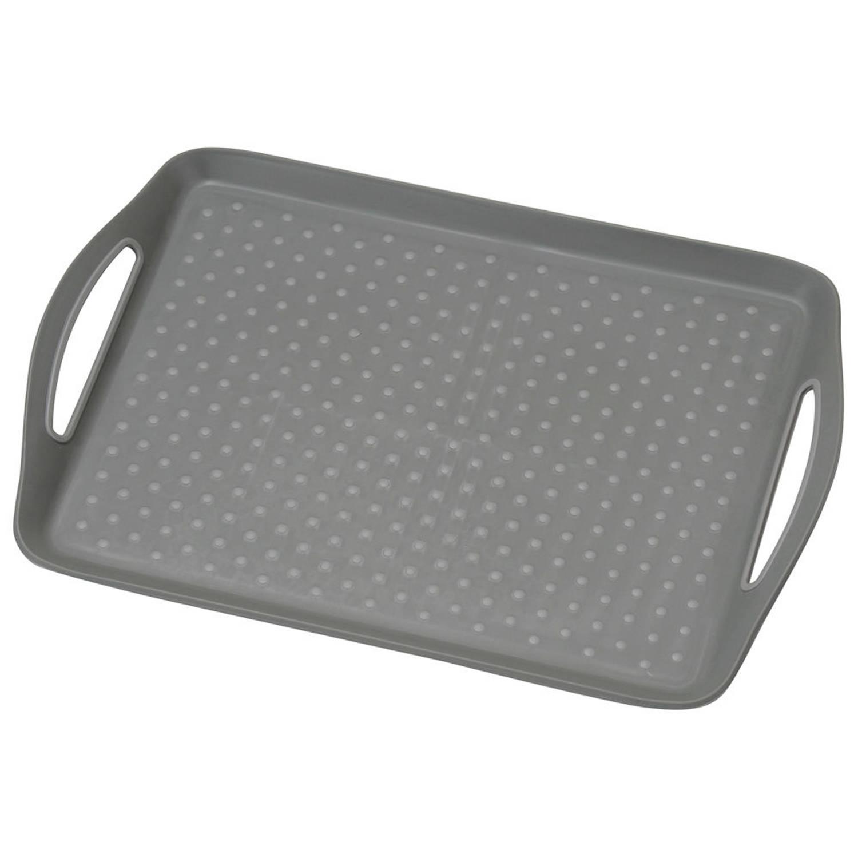 Dienblad Rechthoekig - Anti-slip Dienblad - Diep Dienblad Met Antislip