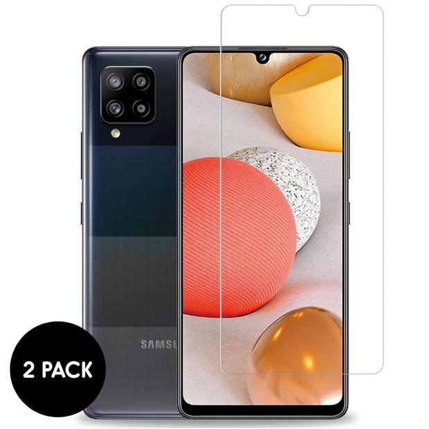 iMoshion Screenprotector Samsung Galaxy A42 Gehard Glas - 2 Pack