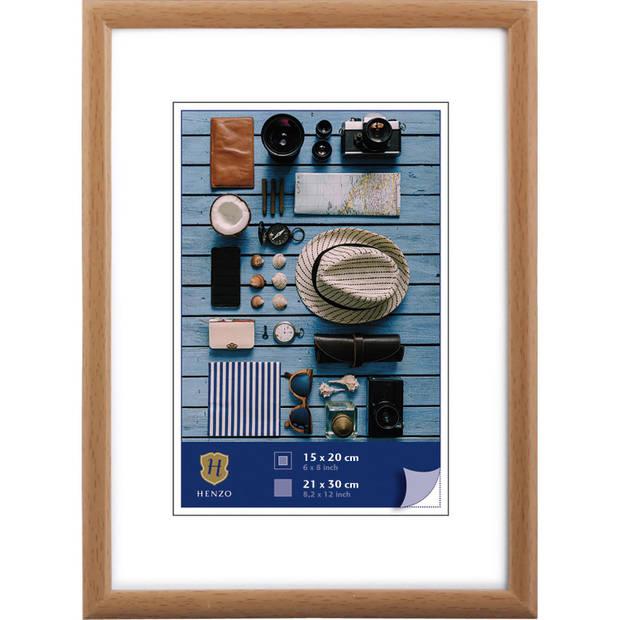 Henzo Fotolijst - Napoli - Fotomaat 21x30 cm - Bruin