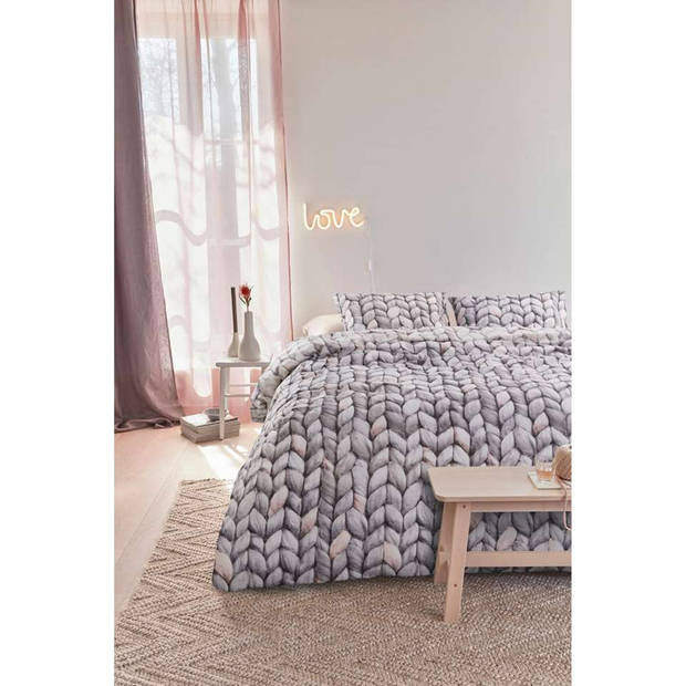 Dbo. Warmly Naturel Taupe 200x200/220cm Aah