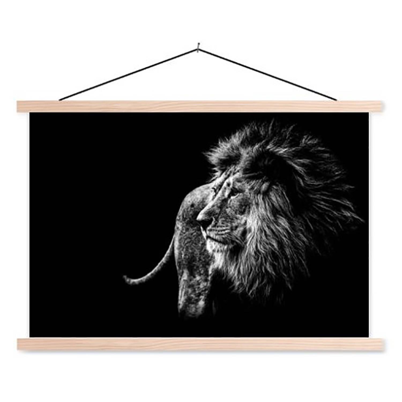Schoolplaat Majestic Lion