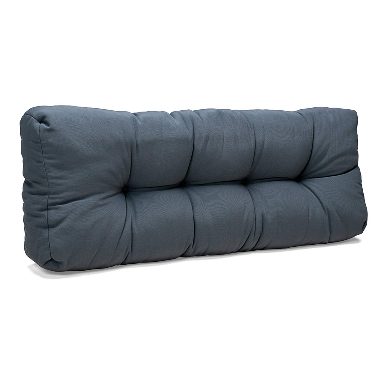 Wicotex Palletkussen Basic Comfort Rugdeel Grijs 120x40x10 20cm