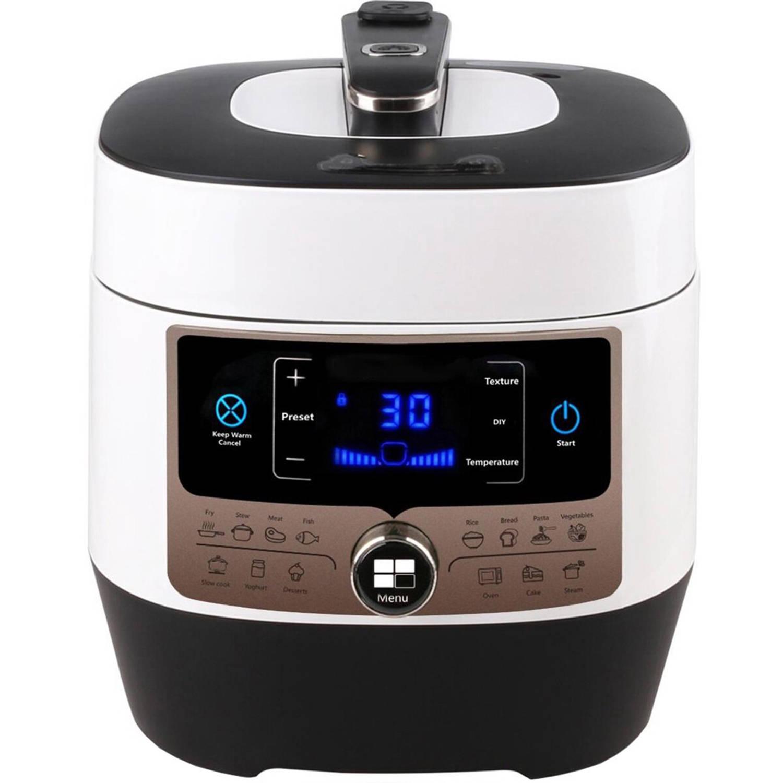 BES LED Multicooker Pressure Aigi Pandy 5.5 Liter Zwart/wit online kopen