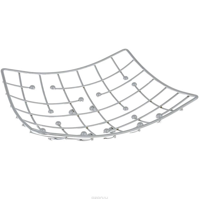 Fruitschaal Vierkant Schaal Voor Fruit Design Fruitmand Metaal -