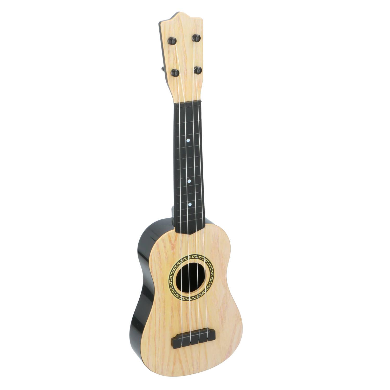 Eddy Toys Kindergitaar Speelgoedinstrument 4 Snaren 57 X 18 X 5 Cm