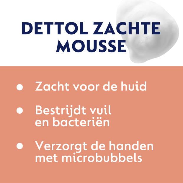 Dettol Handzeep Zachte Mousse - Orchidee & Vanille - 250ml x2