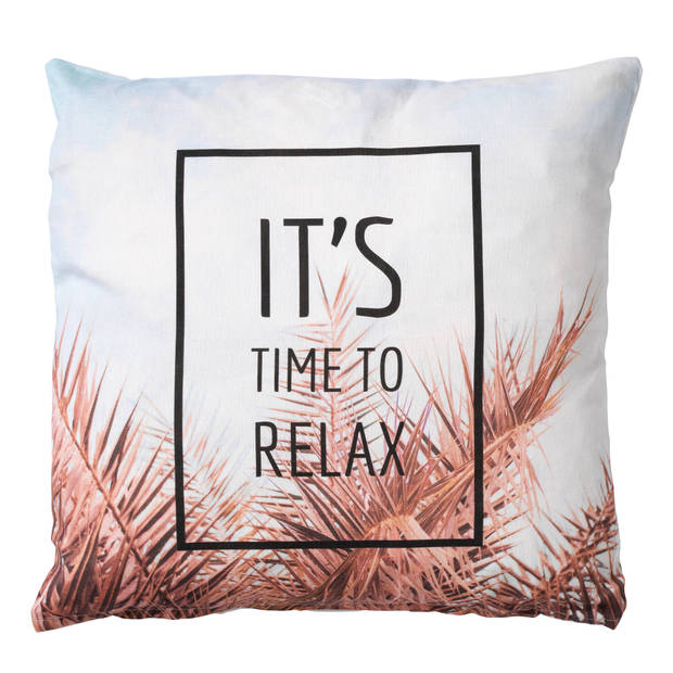 Dutch Decor Sierkussen Relax 45x45 cm multi
